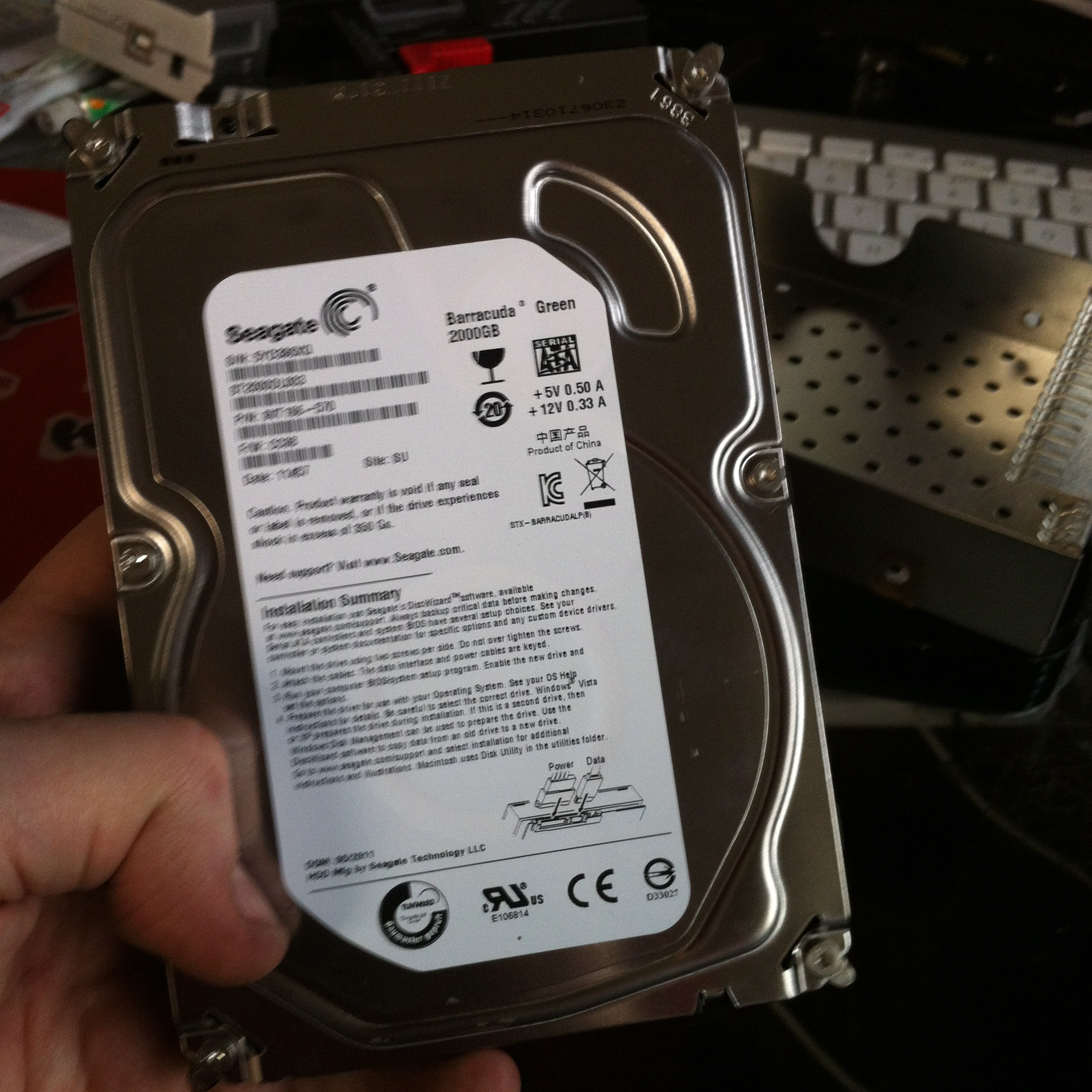 Seagate FreeAgent GoFlex Desk Disassembly